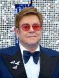Elton John på Rocketman-premieren på Odeon Luxe Leicester Square i London i 2019 (Karwai Tang/WireImage)