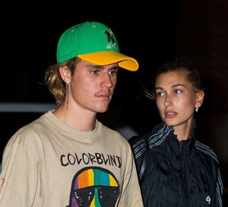 Justin Bieber og Hailey Baldwin i New York i 2018 (Gotham/GC Images)