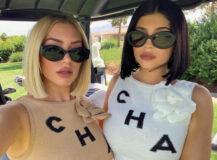 Stassie Karanikolaou og Kylie Jenner trenger ikke å følge ny norsk influencer-lov (Instagram/stassiebaby)
