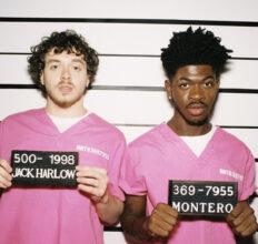 Jack Harlow og Lil Nas X i kasjotten (Columbia/Sony)