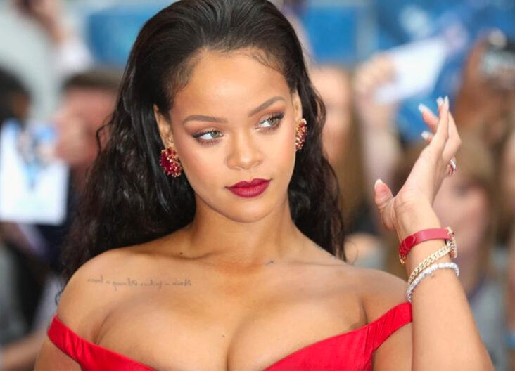 Rihanna på premieren til science fiction-filmen Valerian And The City Of A Thousand Planets - hvor hun har rollen som Bubble - i 2017 (Tim P. Whitby/Getty)