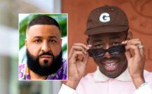 Tyler, the Creator vs. DJ Khaled (Stephane Cardinale/Corbis/Getty)