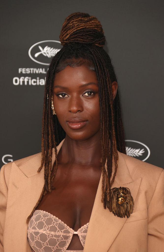 Jodie Turner-Smith oå filmfestivalen i Cannes i juli 2021 (Mike Marsland/WireImage)