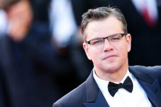 Matt Damon The Sunday Times Variety homofobic slur faggot