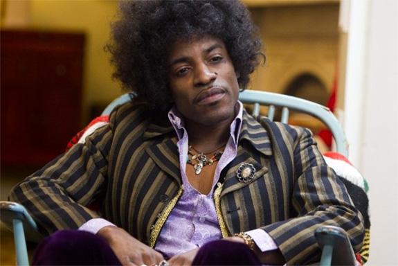 André 3000 som Jimi Hendrix (Matador) André Lauren Benjamin