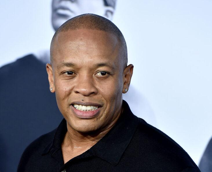 Dr. Dre på premieren til Straight Outta Compton i Los Angeles i 2015 (Kevin Winter/Getty)