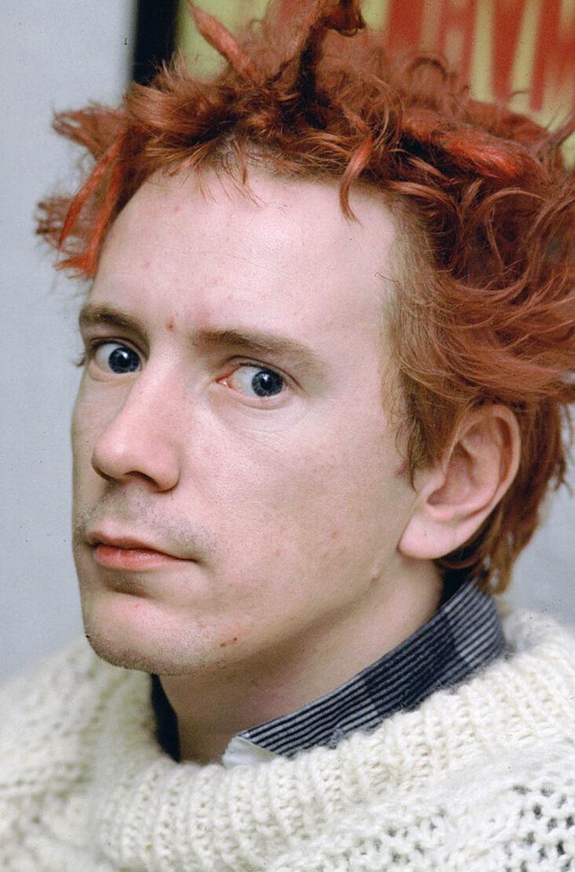 John Lydon aka Johnny Rotten fra Sex Pistols i 1980 (Kypros/Getty)