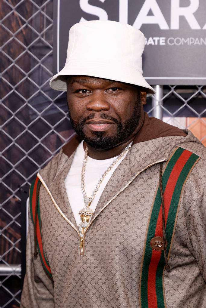 50 Cent på premieren til Power Book III: Raising Kanan i New York i juli 2021 (Jamie McCarthy/Getty/STARZ)