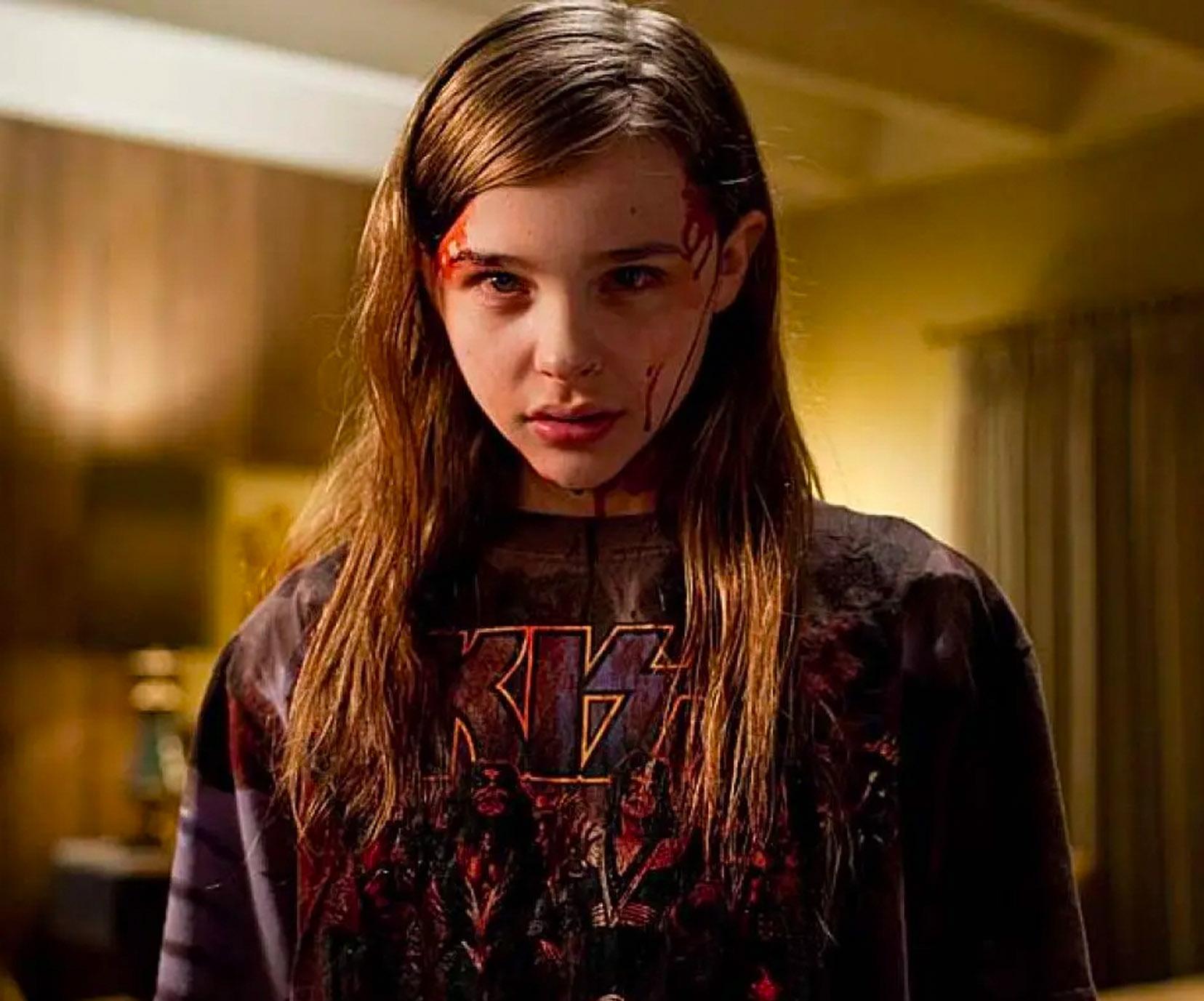 Chloe Grace Moretz i Let Me In fra 2010 (Paramount)