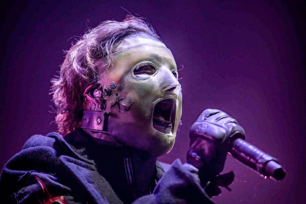 Corey Taylor og Slipknot i Telenor Arena i Bærum 22. februar 2020 (Avalon/PYMCA/Gonzales, Terje Dokken/Getty)