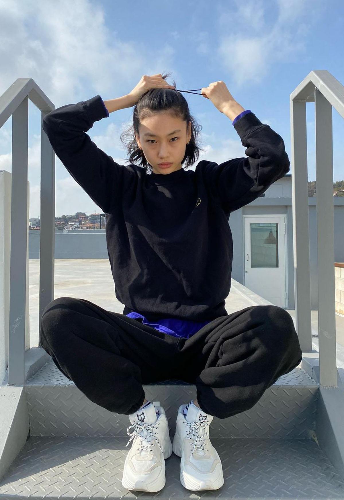 HoYeon Jung aka Kang Sae-byeok (Instagram/hoooooyeony)