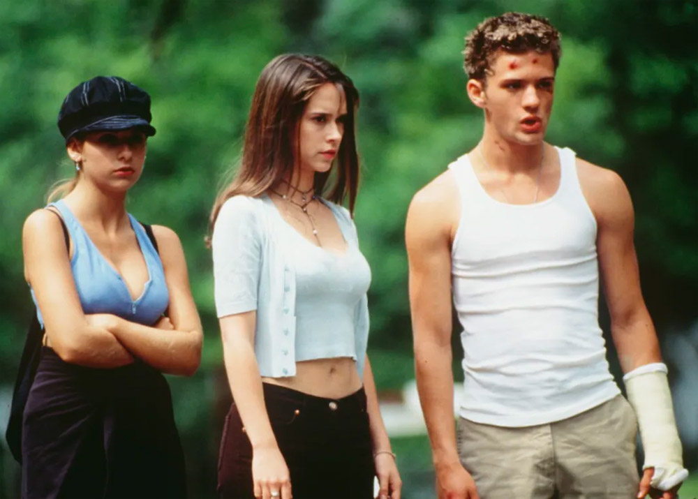 I Know What You Did Last Summer 1997 med Jennifer Love Hewitt, Sarah Michelle Gellar og Ryan Phillippe (Columbia Pictures)