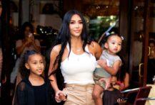 Kim Kardashian North West Chicago West