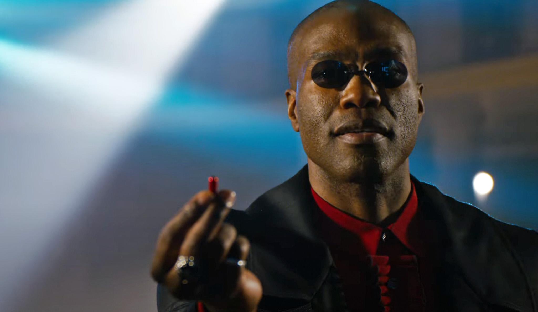 Morpheus Yahya Abdul-Mateen II erstatter Laurence Fishburne som Morpheus (Warner Bros.)