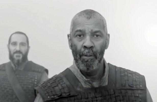Denzel Washington som skrullete Lord Macbeth i Apple Plus-filmen The Tragedy of Macbeth (24)