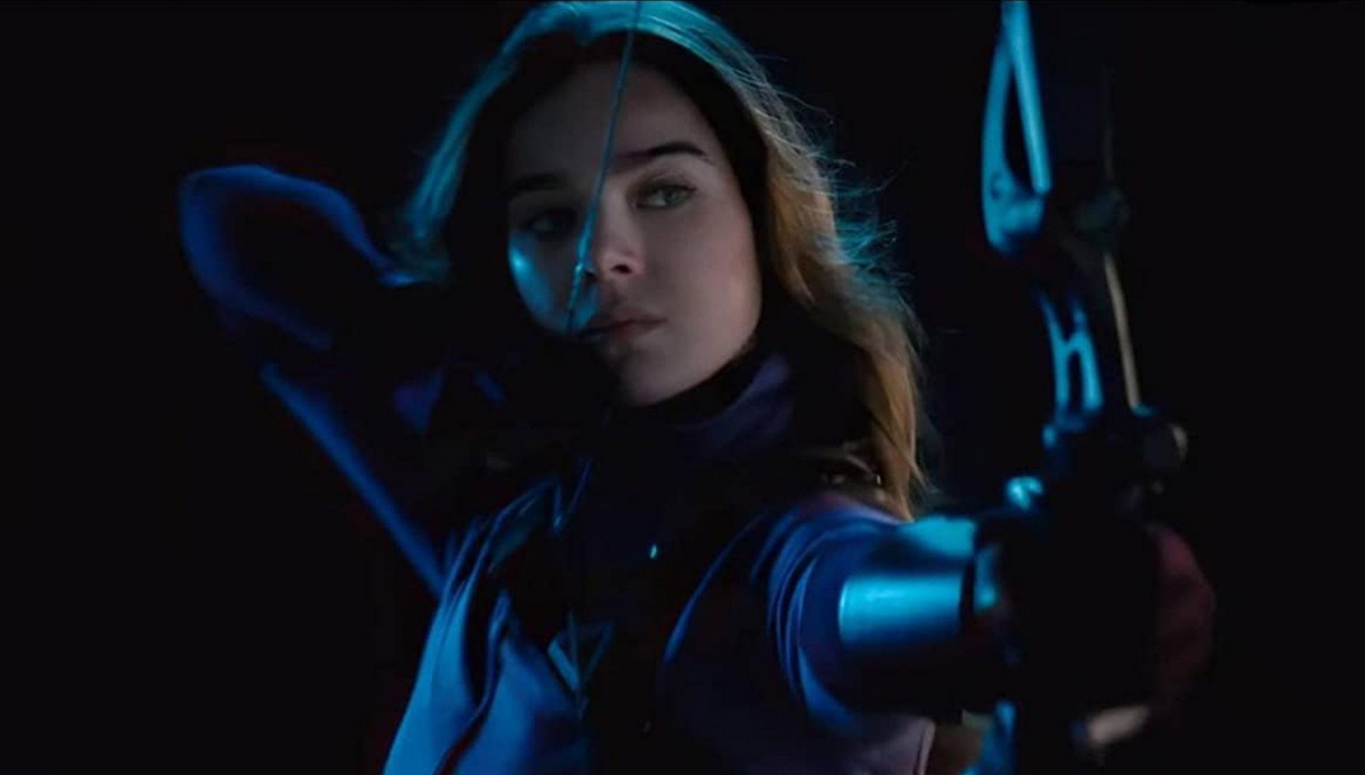 Hailee Steinfeld som Kate Bishop alias Hawkeye junior (Marvel/Disney)