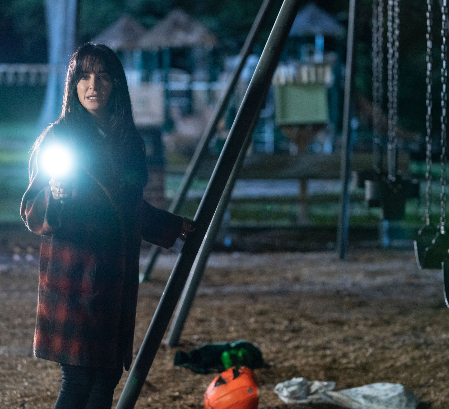 Kyle Richards er tilbake som Lindsey Wallace fra den første Halloween-filmen (UIP)