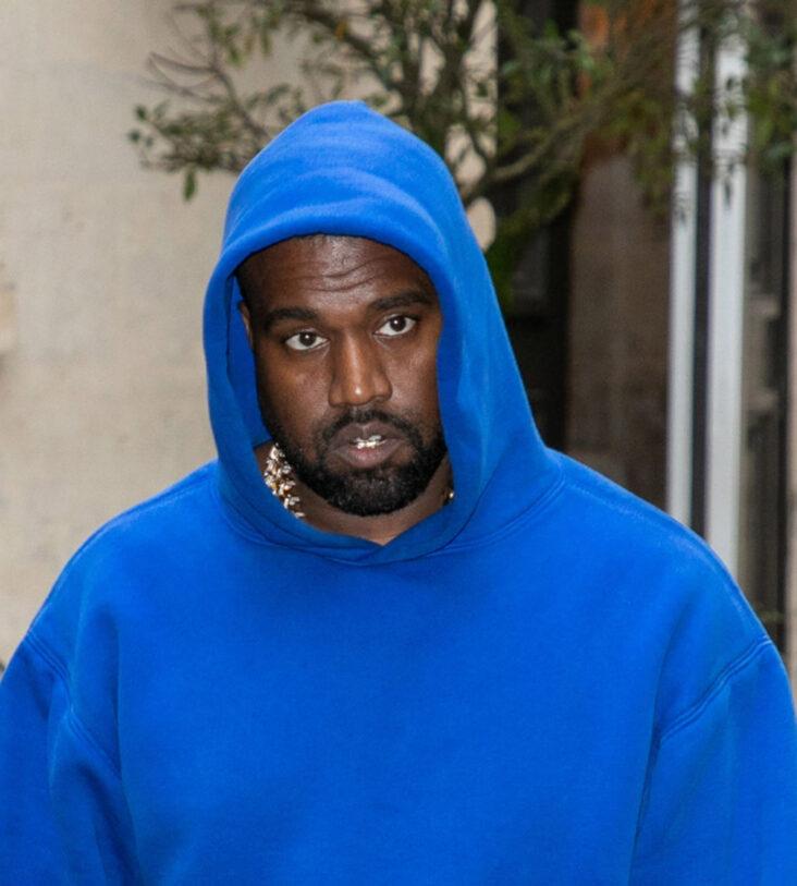 Kanye West i Paris i mars 2020 (Marc Piasecki/GC Images)