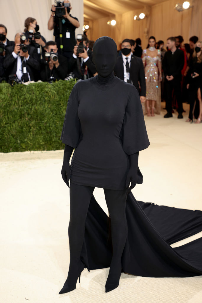 Kim Kardashian under årets Met Gala på Manhattan i New York (Dimitrios Kambouris/Getty Images for The Met Museum/Vogue)