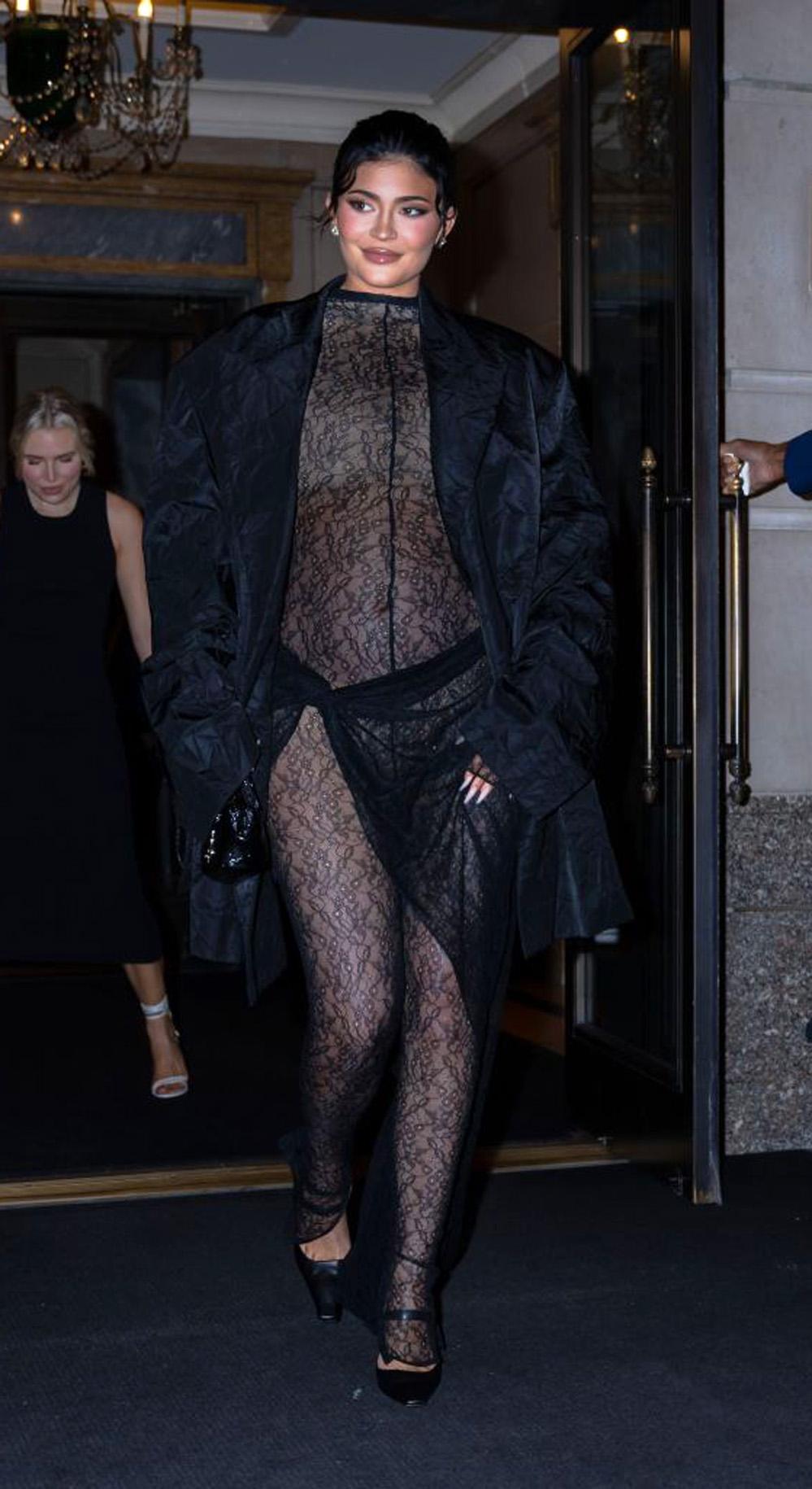 Kylie Jenner i Midtown på Manhatten i New York City 9. september 2021 (Gotham/GC Images)