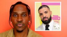 Pusha T vs. Drake part XIV (Mike Lawrie/Getty, Rich Fury/Getty/dcp)