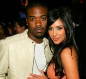 Ray J og Kim Kardashian påevent i Los Angeles for designer Charlotte Ronson i 2006 (John Shearer/WireImage)