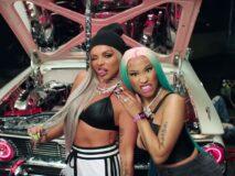 Jesy Nelson får støtte av Nicki Minaj (Republic/Universal)