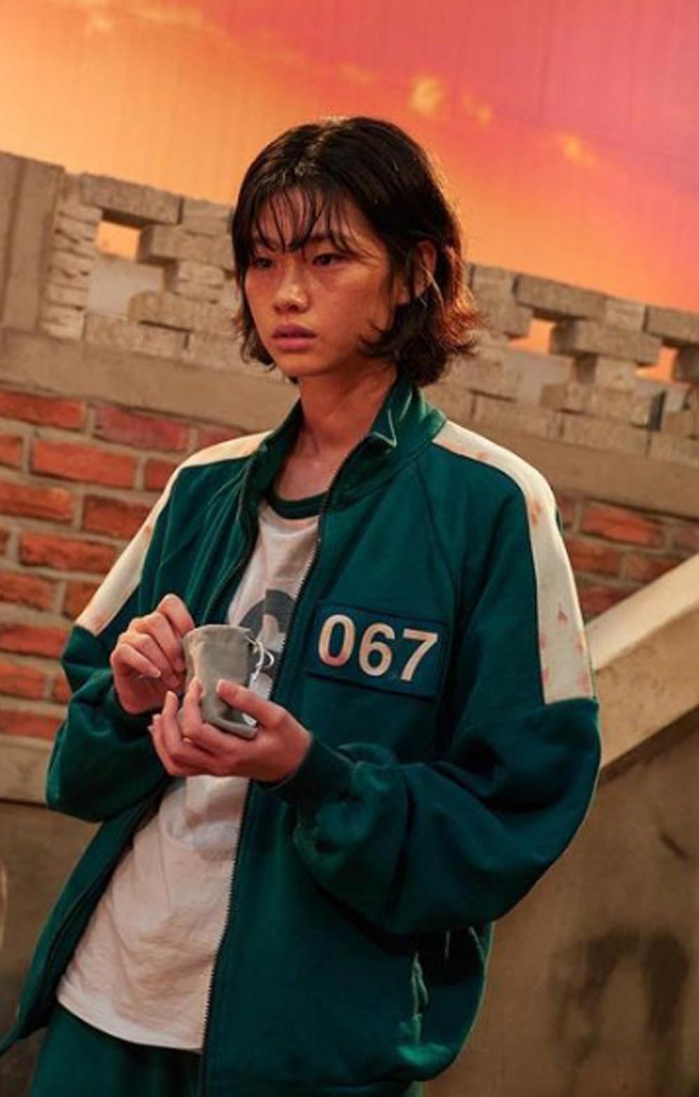 HoYeon Jung alias Kang Sae-byeok alias spiller 067 i Squid Game alias 오징어 게임 (Netflix)