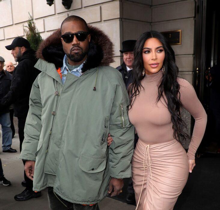 Kanye West Kim Kardashian New York 2020