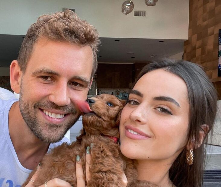 Nick Viall og Natalie Joy (Instagram/nickviall)