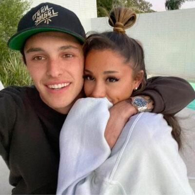 Dalton Gomez og Ariana Grande (Instagram/arianagrande)