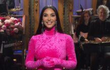 Kim Kardashian påSaturday Night Live alias SNL (NBC)