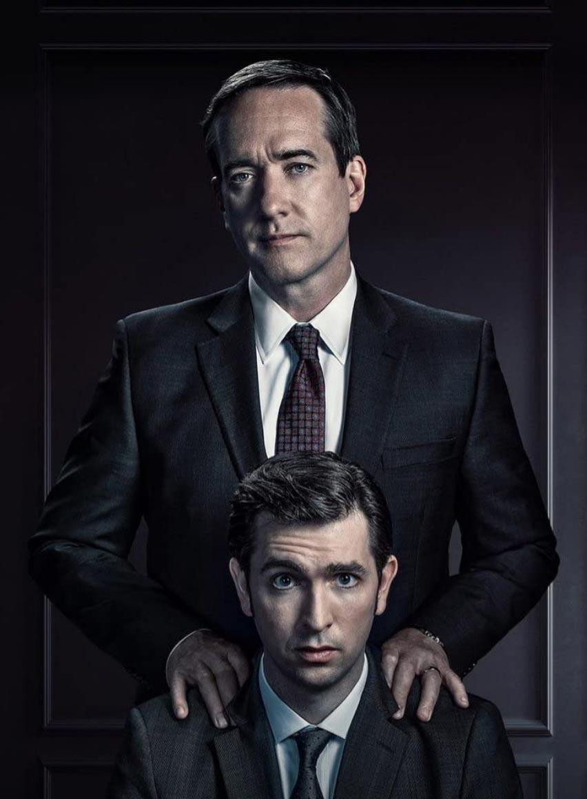 Nicholas Braun og Matthew Macfadyen (HBO)