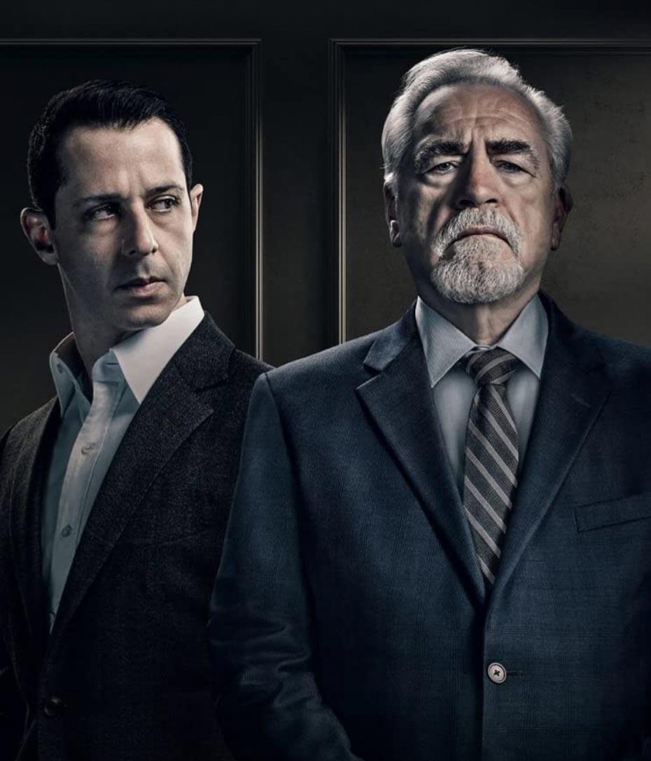 Jeremy Strong og Brian Cox (HBO)