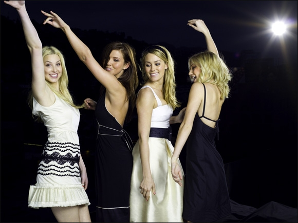THE HILLS'  WHITNEY, AUDRINA, LAUREN OG HEIDI FÅR NOK BLI (MTV)
