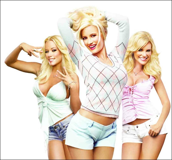 DE VANLIGE JENTENE: HOLLY, KENDRA & BRIDGET (TV3/E!)
