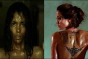 HALLE BERRY FRA GOTHIKA, ANGELINA JOLIE FRA WANTED (UNIVERSAL PICTURES, WARNER BROS.)