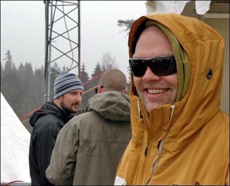 DJ OLLE ABSTRACT... TIL HØYRE (MORTEN NYMOEN/TACKY)