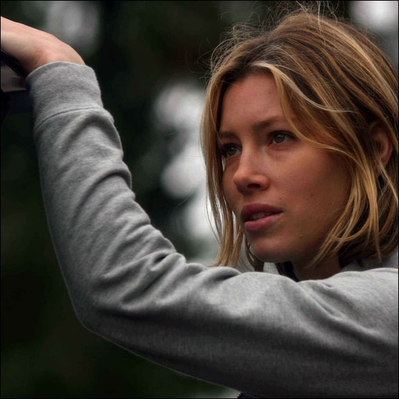 JESSICA BIEL I 50 CENTS 2006-FLOPP HOME OF THE BRAVE (MGM)