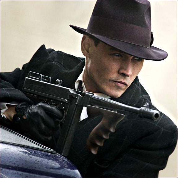 JOHNNY DEPP I PUBLIC ENEMIES (UNIVERSAL PICTURES)