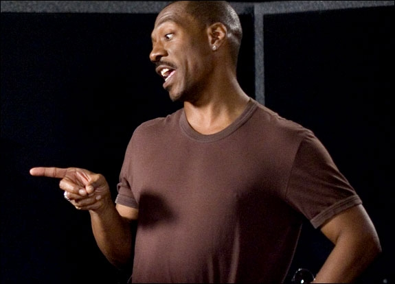 EDDIE MURPHY UNDER INNSPILLINGEN AV SHREK THE THIRD (UIP)