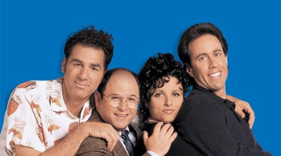 KRAMER, ELAINE, GEORGE OG JERRY PÅ 90-TALLET (NBC)