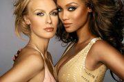 TYRA BANKS MED NORSK-SVENSK-AMERIKANSKE CARIDEE SOM VANT I 2006 (CW/TV3)