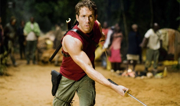 RYAN REYNOLDS SVINGER SEG SOM DEADPOOL I WOLVERINE (SF NORGE AS)