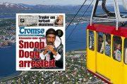 I JUNI FIKK SNOOP ADVARSEL AV NORSK POLITISJEF  (TROMSØ, VISITNORWAY.COM)