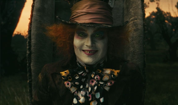 JOHNNY SOM THE MAD HATTER (WALT DISNEY STUDIOS MOTION PICTURES NORWAY)