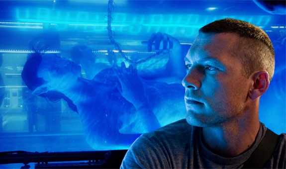 SAM WORTHINGTON SOM JAKE SULLY I AVATAR (20TH CENTURY FOX)
