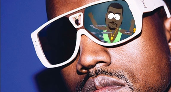KANYE WEST AKA GAY FISH (UNIVERSAL/COMEDY CENTRAL)