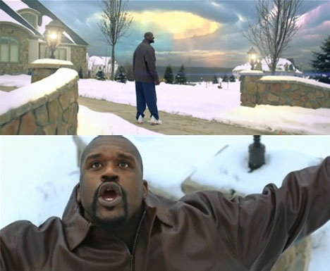 SHAQ-ATTACK? SPACED OUT VIDEO FRA UGLA (UNIVERSAL)