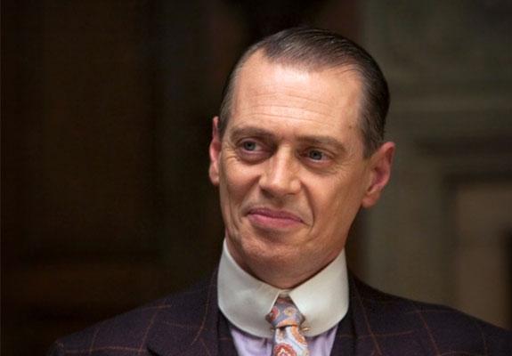 STEVE BUSCEMI SOM GANGSTEREN ENOCH «NUCKY» THOMPSON (HBO)